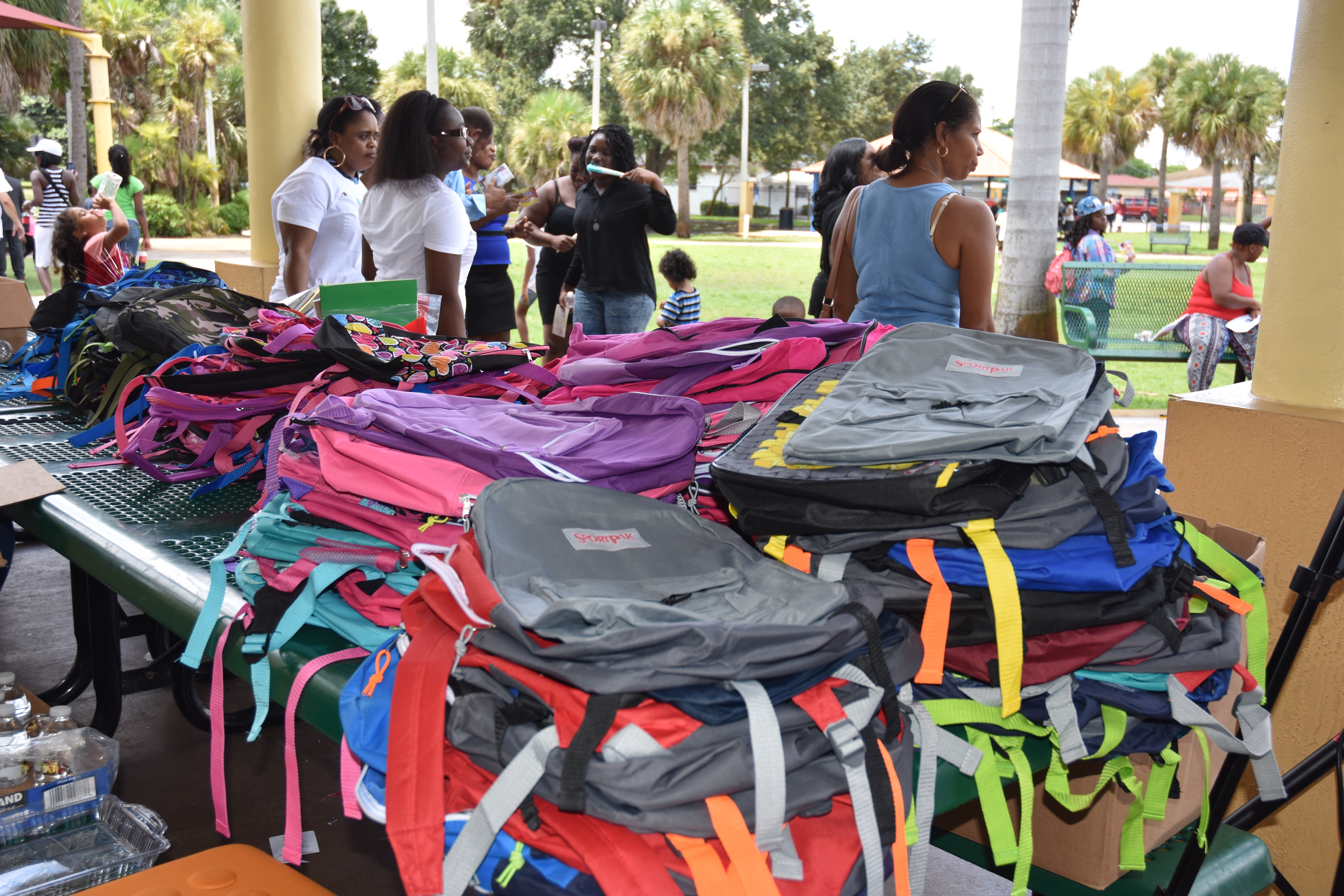 DSC 2657 - Community Give Back - Backpack-A-Thon 2015