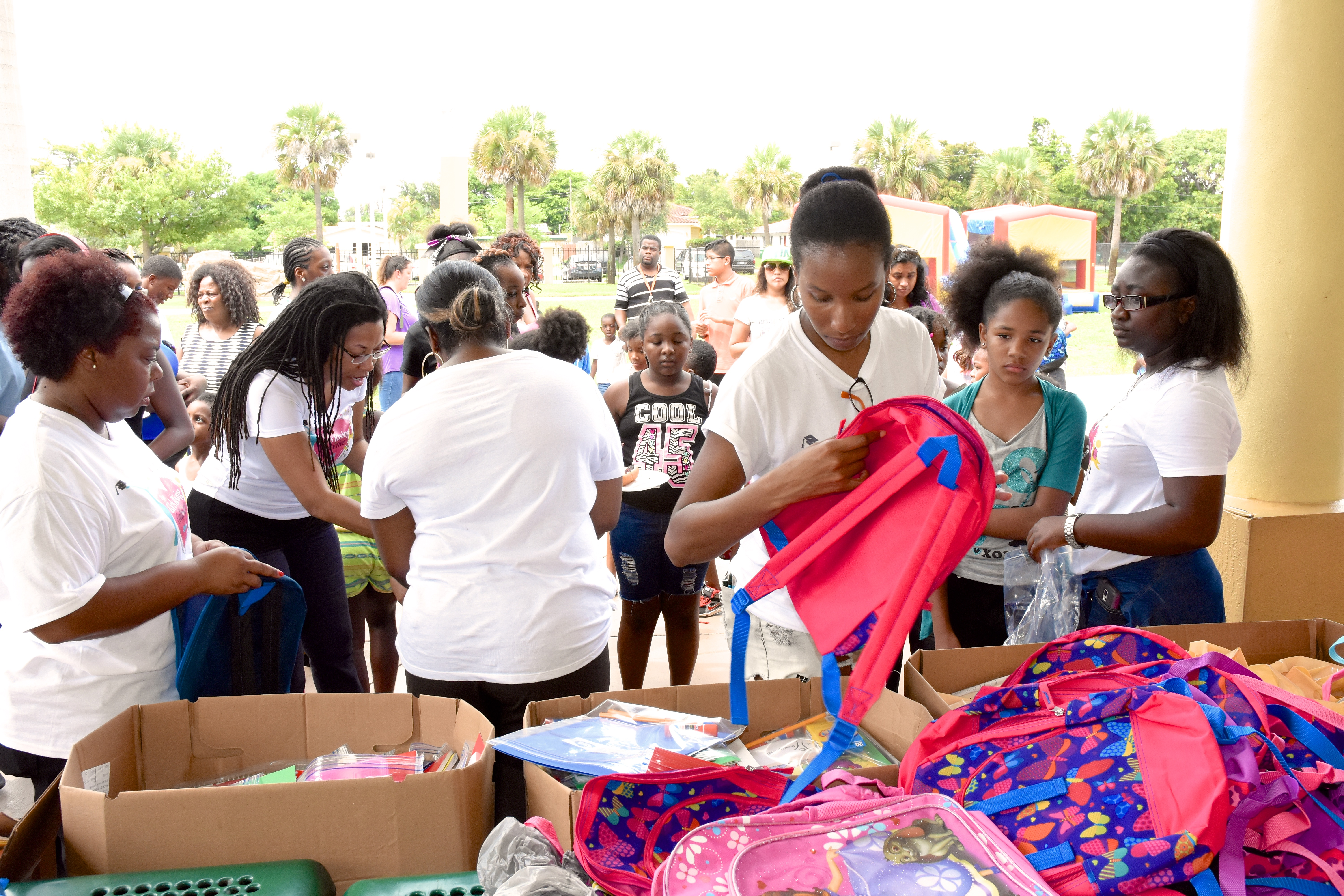 DSC 2747 - Community Give Back - Backpack-A-Thon 2015