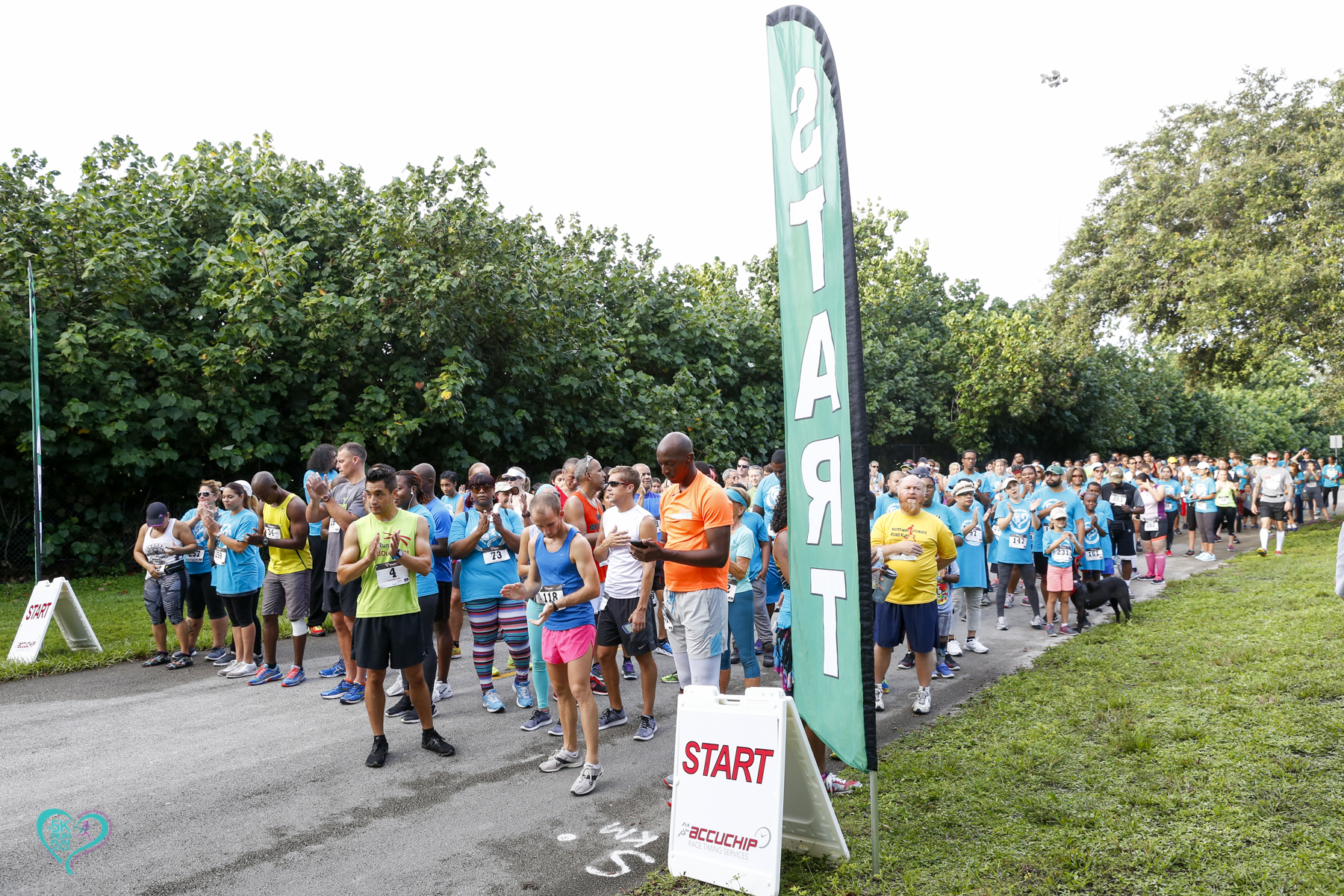 KF 0215 - Florida Teal 5K Run/ Fun Walk 2016