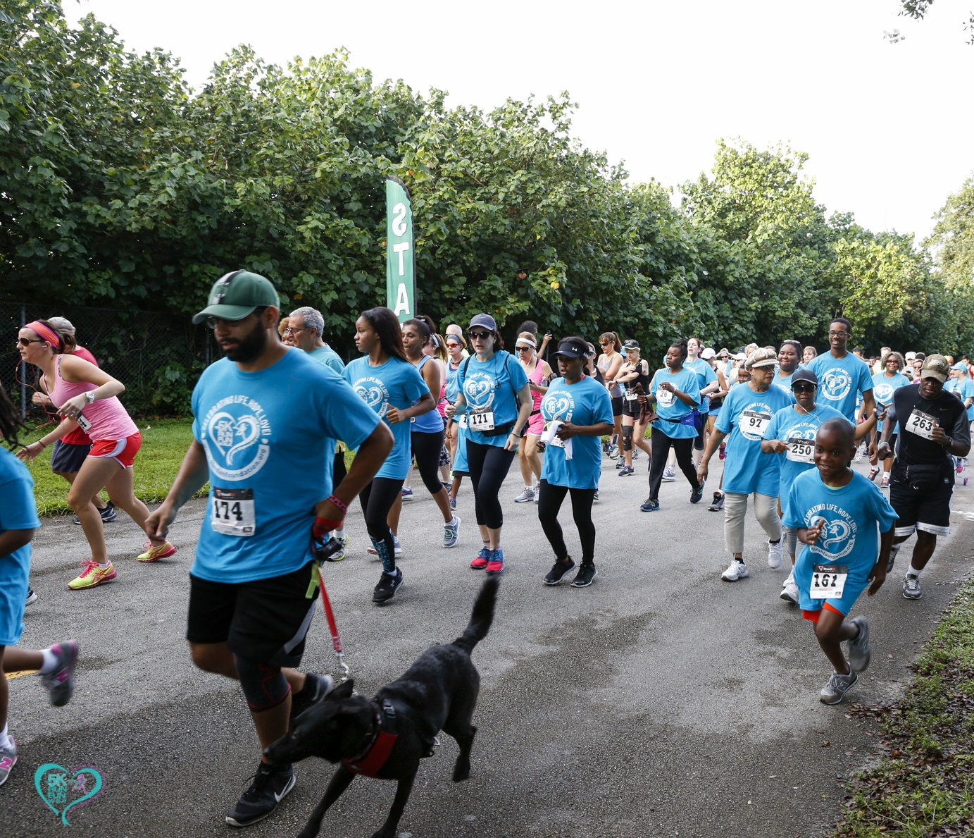 KF 0238 - Florida Teal 5K Run/ Fun Walk 2016