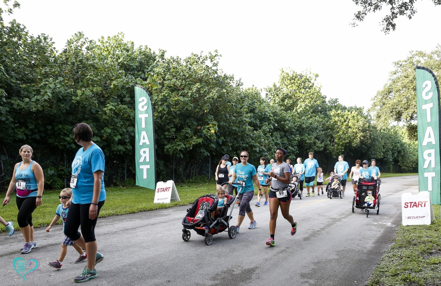 KF 0256 - Florida Teal 5K Run/ Fun Walk 2016