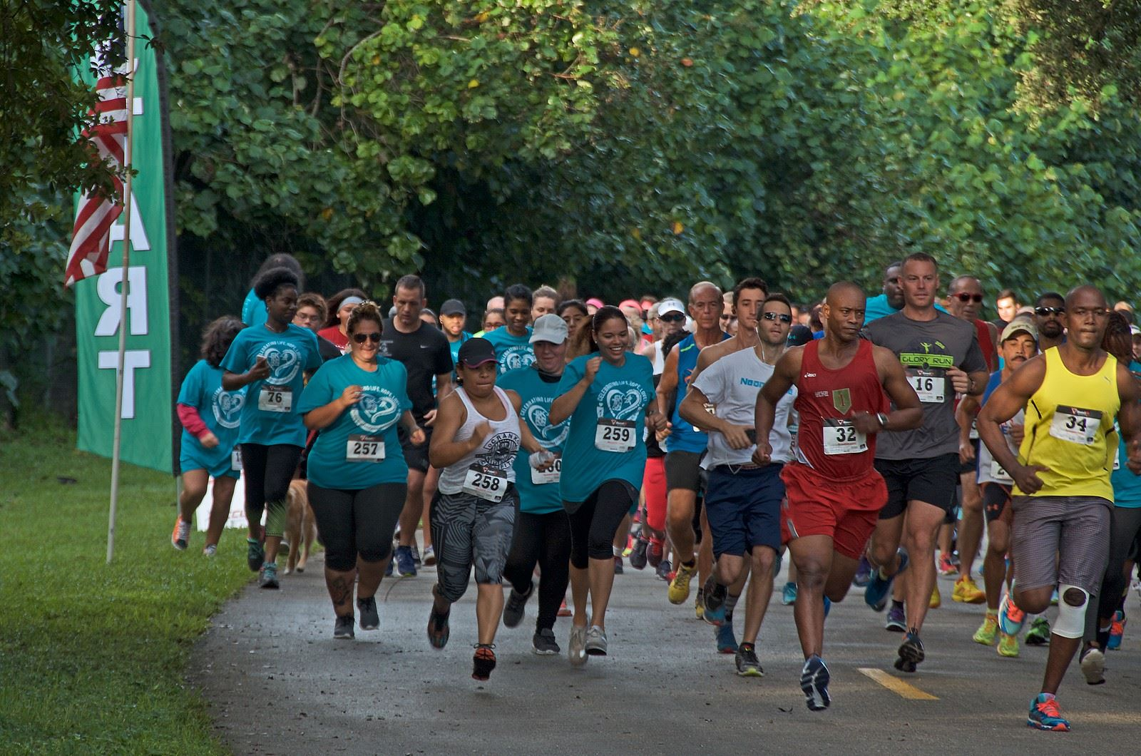 teal 14 1 - Florida Teal 5K Run/ Fun Walk 2016
