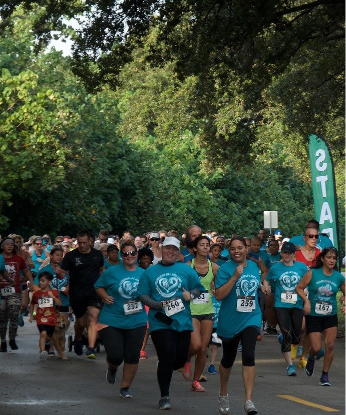 teal 20 - Florida Teal 5K Run/ Fun Walk 2016