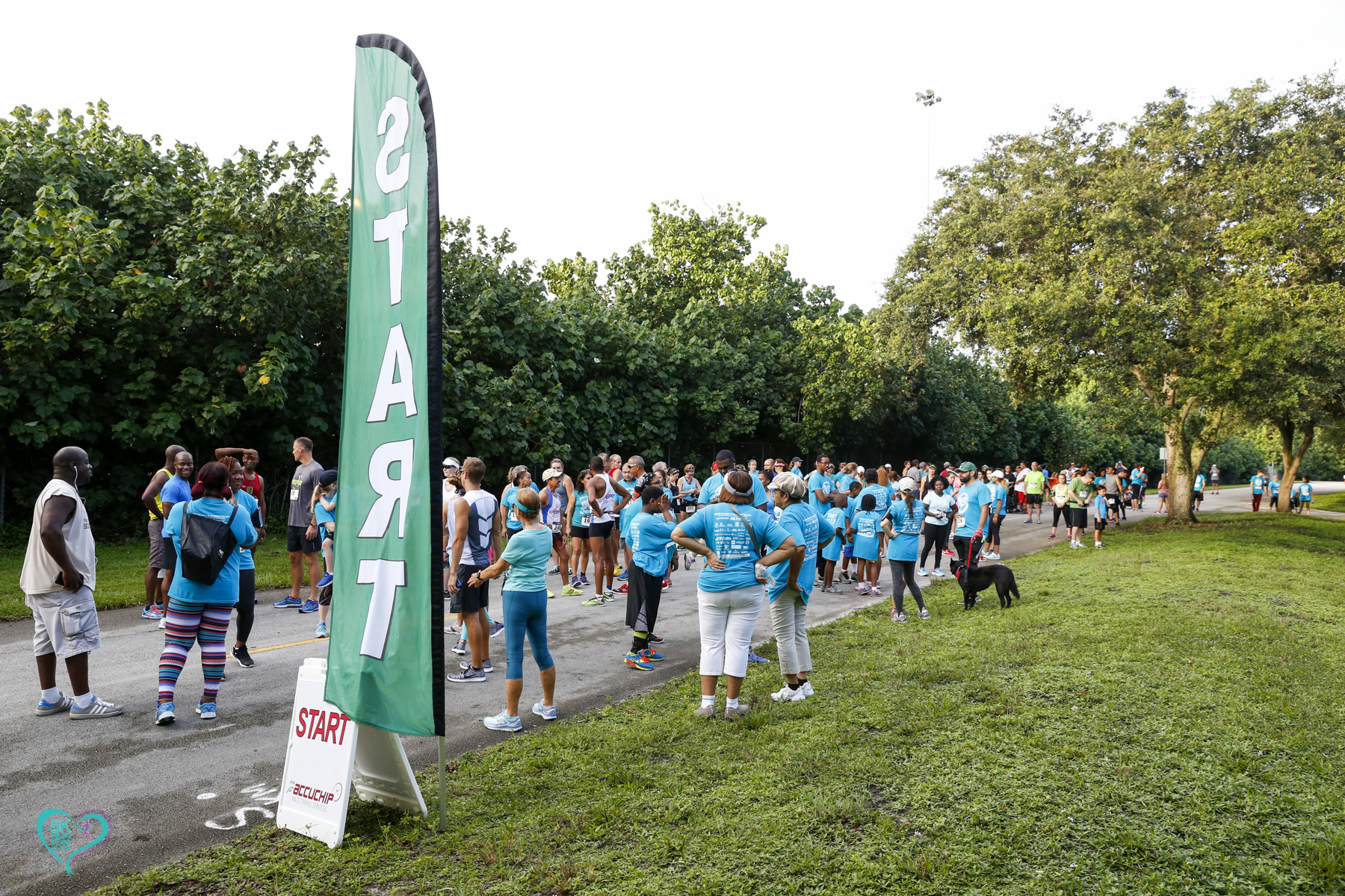KF 0195 - Florida Teal 5K Run/ Fun Walk 2016