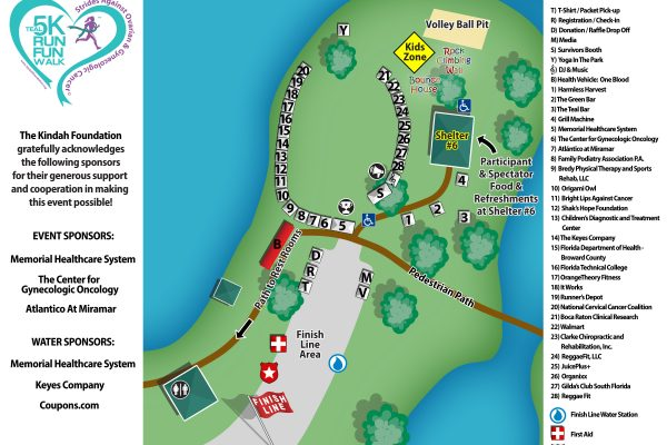 Teal Event Site Map 600x400 - Awareness Network