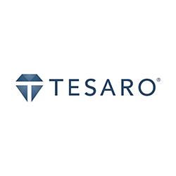 TESARO logo updated - Home - Final